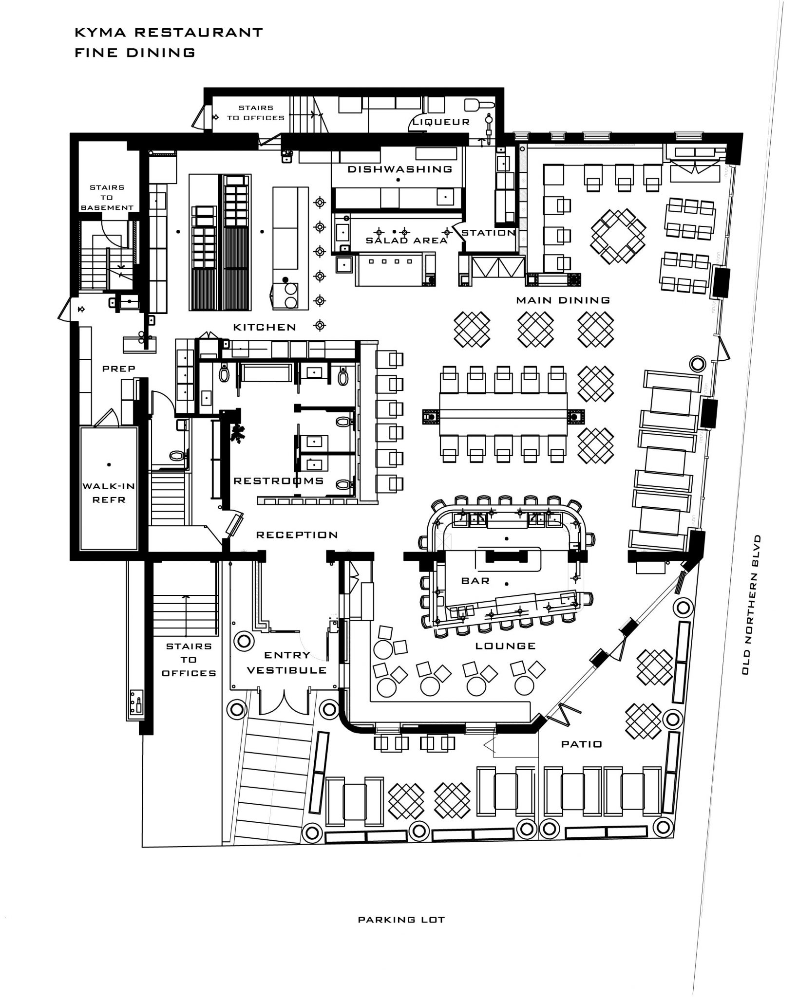 Restaurant floor plan layout joy studio design gallery Rest house plan