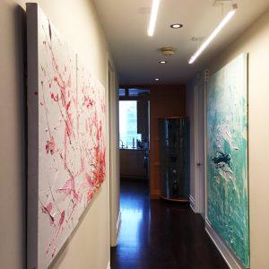 Lincoln Center Apartment_Paris K Design 8_Gallery wall