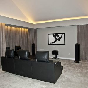 Mattituck_Paris K Design_15_Media Room_Flat Screen TV