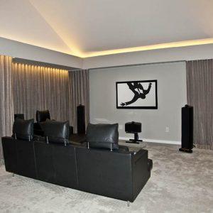 Mattituck_Paris K Design_15_Media Room_Flat Screen TV