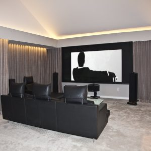 Mattituck_Paris K Design_16_Media Room_Projector