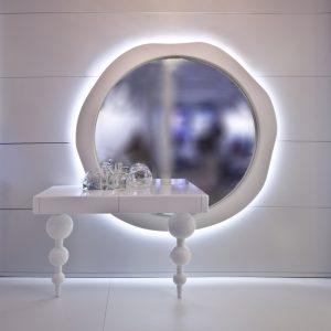 Paris K Design Vanity Set with Light